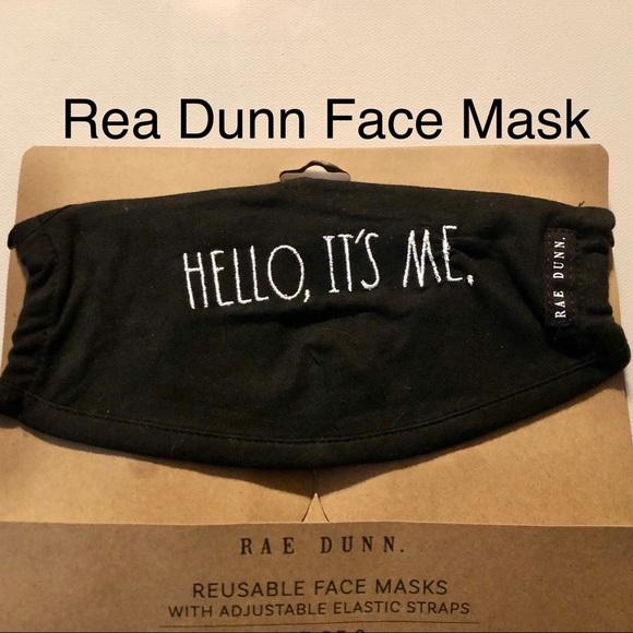 Rea Dunn Reusable Face Mask Covid New